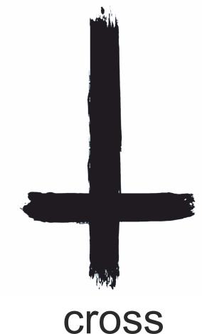 Крест модный