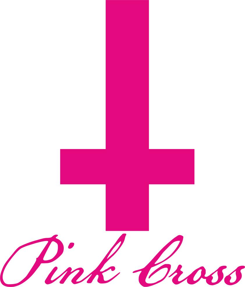 розовый крест