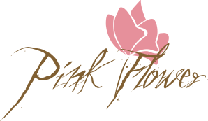 Розовый цветок брэнд
