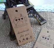 600-шт-Швейные-Машины-дизайн-Hand-Made-Крафт-Подарок-Тег-Повесить-тег-DIY-Партия-Бумаги-Карты