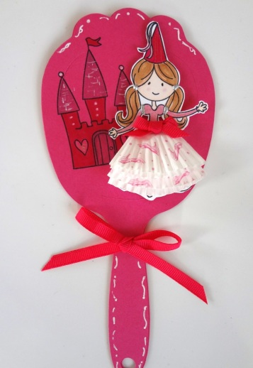 Party Princess BL Hand Mirror Front C